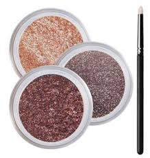 green eyes smokey mineral eyeshadow kit 100 pure all natural mineral makeup not bare minerals bare escentuals mineral fusion mac