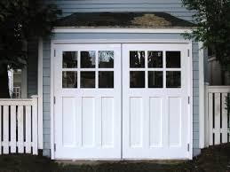 swing out garage doorsHinged Swinging SwingOut SwingIn and Swing REAL Carriage