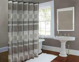 modern shower curtain ideas. Grey And White Striped Shower Curtain Modern Ideas