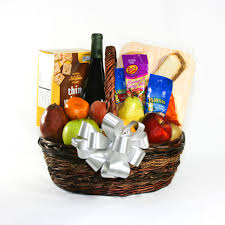 staying home tonight gift basket