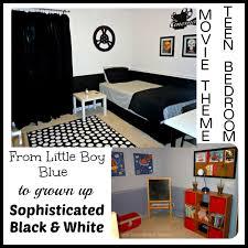 Movie Themed Bedroom Creating A Teens Black White Movie Themed Bedroom