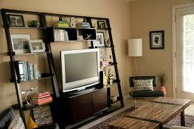 Cool Tv Stand Ideas custom wood cool homemade tv stands with vertical bookshelf and 4059 by uwakikaiketsu.us