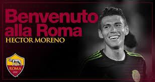 2014 fifa world cup brazil. Official Roma Sign Moreno