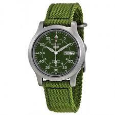 seiko 5 green dial green canvas men s watch snk805 seiko 5 seiko 5 green dial green canvas men s watch snk805
