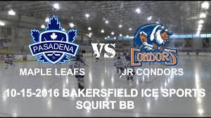 pasadena maple leafs vs bakersfield jr condors bb 10 15 2018