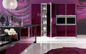 Purple Kitchen Cabinet Doors Kitchen Design Possibilitarian Kitchen Wallpaper Designs