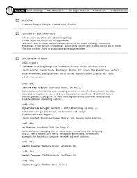 Graphic Web Designer Resume – Bezholesterol.
