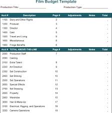 Budgeting Spreadsheet Free Excel Budgeting Templates Film Budget Template For Excel Film Budget