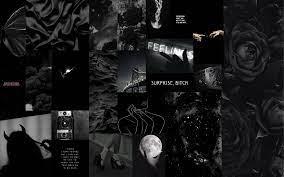 Grunge Aesthetic Laptop Wallpaper Black ...