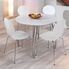 white dining table set photo of round white dining table set