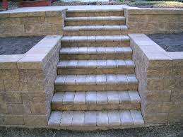 Cinder Block Stairs Stairs And Steps Premier Patio And Landscape Llc