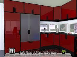 Sims 3 Kitchen Mod The Sims Kristina Line Kitchen