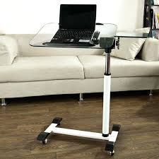 posh laptop bed desk for home design um size of side table rolling computer lap argos