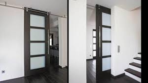 interior glass barn doors modern frosted door office for styling intended 8
