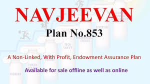 Lic Nav Chart Lic Navjeevan Plan Table No 853 Full Details Youtube