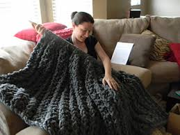 Chunky Knit Blanket Pattern Fascinating Ravelry Giant Super Chunky Knit Blanket Pattern By Theresa Boyce