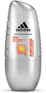 <b>Adidas Adipower Anti-Perspirant Roll-On</b> for Him, 50 ml - Pack of 2 ...