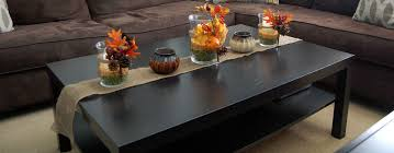 Idea Coffee Table Centerpiece Coffee Table Centerpiece Ideas Modern Black Wood Two