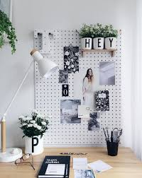 black white home office inspiration. black and white home office desk styling via citysage inspiration o
