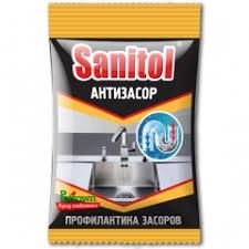 <b>Антизасор</b> для чистки труб <b>Sanitol</b> ЧС-152, 90 г - интернет ...
