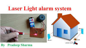 How To Make A Laser Light Security System How To Make Laser Light Alarm System Security Alarm Diy Project Circuit Gallery Pradeep Sharma