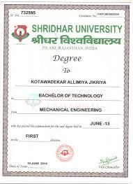 Sunrise University Degree Certificate Sample Best Of Sunrise ...
