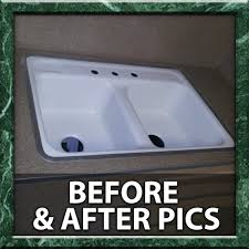 an extensive photogallery of our work see dozens of examples of our work reglazing bathtubs