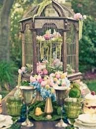 Bird cage center piece by mamie | Bird cage decor, Vintage bird cage, Bird  cage centerpiece