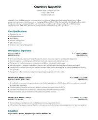Front Desk Receptionist Resume Beauteous Receptionist Skills Resume Receptionist Resume Qualifications