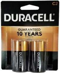 Duracell Battery Sizes Chart Duracell Mn1400b2 C Size Battery 2 Pack Usa Retail Packs 3