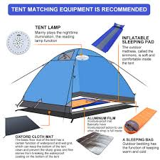 Amazoncom Xiangban Camping Tent 2 Person Tents Waterproof For
