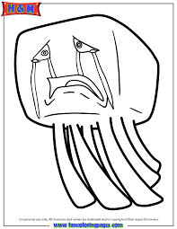 Small Picture Ghast From Minecraft Video Game Coloring Page H M Coloring Pages