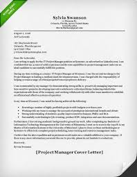 Project Manager Cover Letter Image Gallery Software Project
