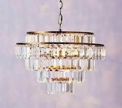 rectangular crystal drop chandelier pottery barn kids regarding inspirations 0 clarissa small round bar