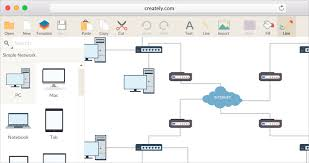 Web Chart Template Network Diagram Software To Quickly Draw Network Diagrams