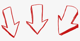 Img 3 Arrow Down Drawn - 3 Arrows Down - Free Transparent PNG Download -  PNGkey