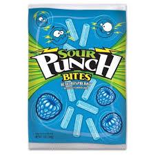 Sour Punch <b>Bites Blue</b> Raspberry Licorice <b>Candy</b> - 5oz : Target