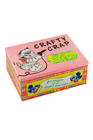 Blue Q Crafty Cat Box - Front Cropped Image