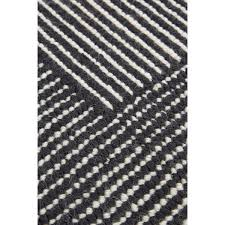 black and white striped rug round rugs ideas web stripe detail in