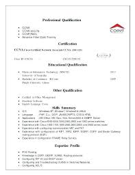 Cisco Voice Engineer Sample Resume Inspiration Ccna Resume Sample Resume Format Resume Format Unique Resume Format