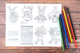 Free online printable halloween coloring pages for kids of all ages. Free Printable Mini Halloween Coloring Book Artsy Fartsy Mama