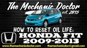 2008 Honda Fit Maintenance Light Reset How To Reset Oil Life Honda Fit 2009 2010 2011 2012 2013