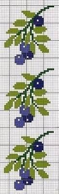 Простые крестики(схемы) / <b>Вышивка</b> / <b>Вышивка</b> крестом | Цветы ...