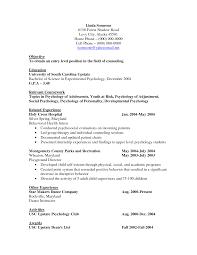 Psychology Resume Drupaldance Com