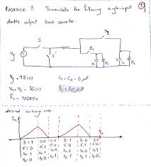 Discontinuous Conduction Mode Buck Converter Design Could You Please Help Me Realize This Single Input Double