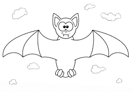 Small Picture Vampire Bat Cartoon Character Coloring Page Animal Download