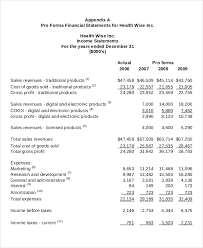 Profit And Loss Statement For Restaurant Template Income Statement Template 14 Free Excel Pdf Word