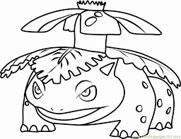 Mega Venusaur Coloring Pages Lovely Pokemon Coloring Pages Squirtle