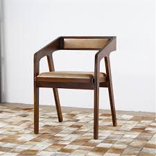 simple wooden chair. Simple And Modern Wood Chair Coffee Lounge Dining Wooden
