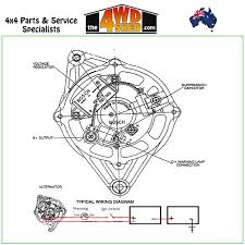 Twin alternator wiring diagram new alternator 24v 55 bosch type universal